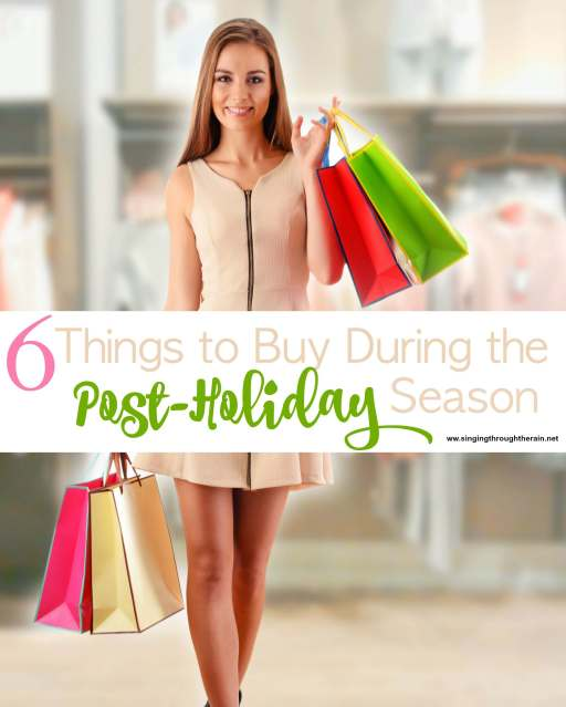 6 Things to Buy During the Post-Holiday Season