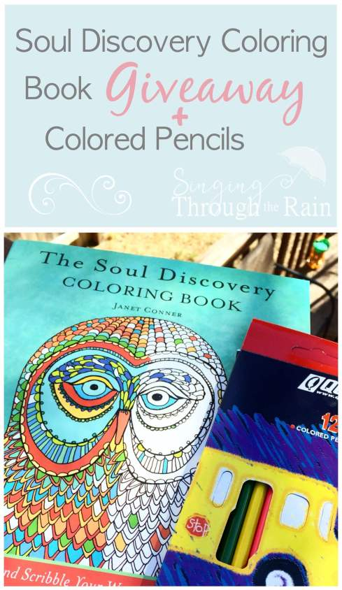 Soul Discovery Adult Coloring Book Giveaway Singing
