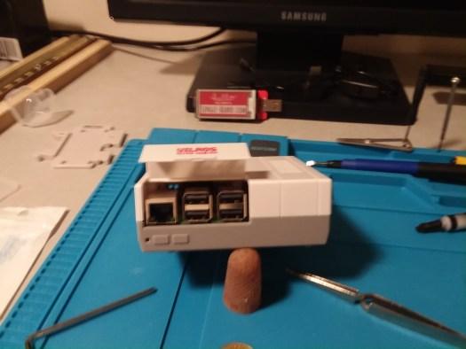 Assembled Retro Pi
