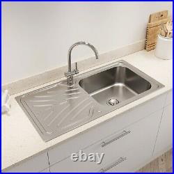 single bowl kitchen