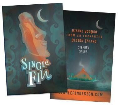 Single Fin Design :: BUSINESS CARD