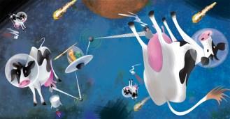 Children's book proposal: Cosmic Coffee Quest