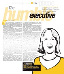 Network World magazine :: HUMBLE EXEC