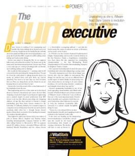 Network World magazine :: HUMBLE EXEC