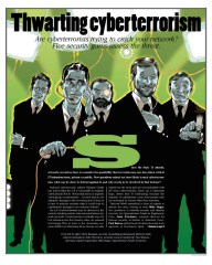 Network World magazine :: THWARTING CYBERTERRORISM