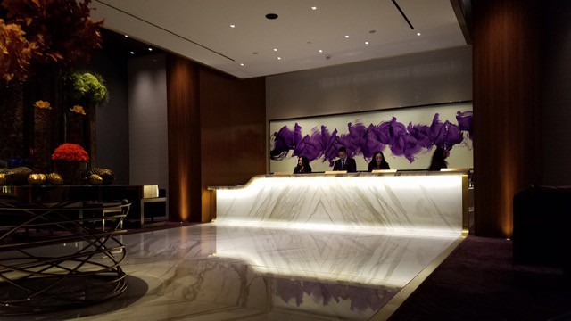 Aria Tower Suites Lounge