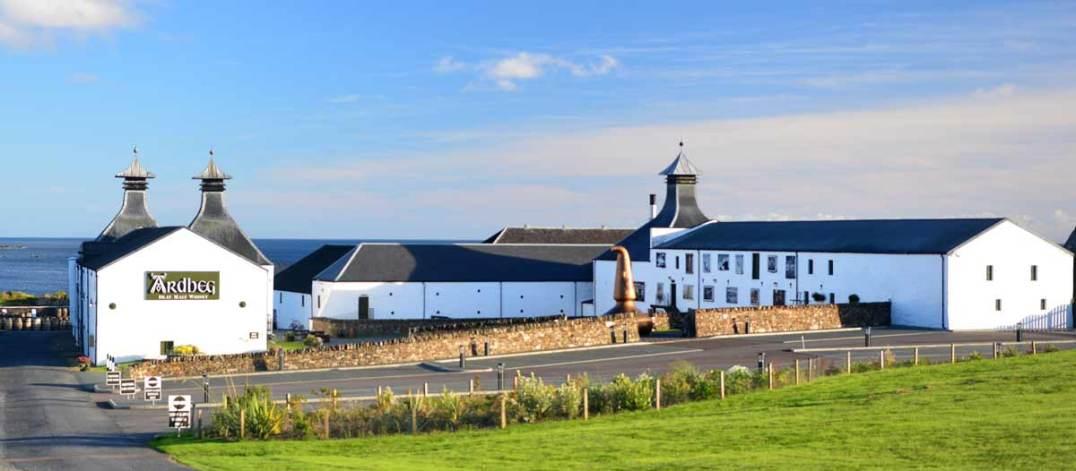 Die Destillerie von Ardbeg