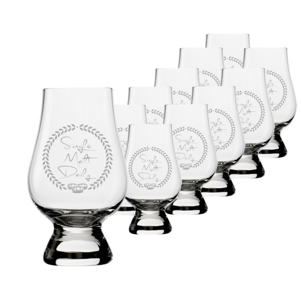 12 Glencairn Glasses