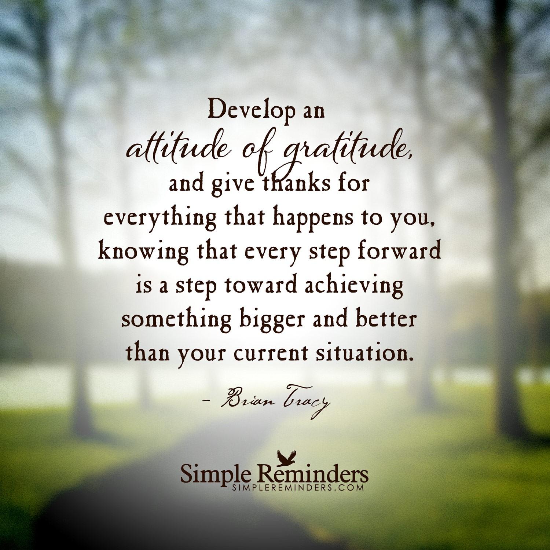 Attitude Is Gratitude Singlemomaholicdotcom