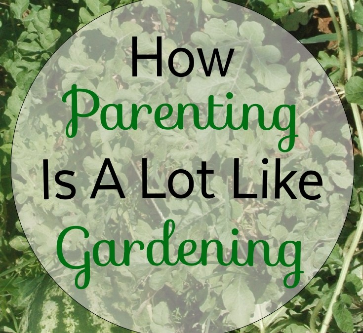 How Parenting is a Lot Like Gardening