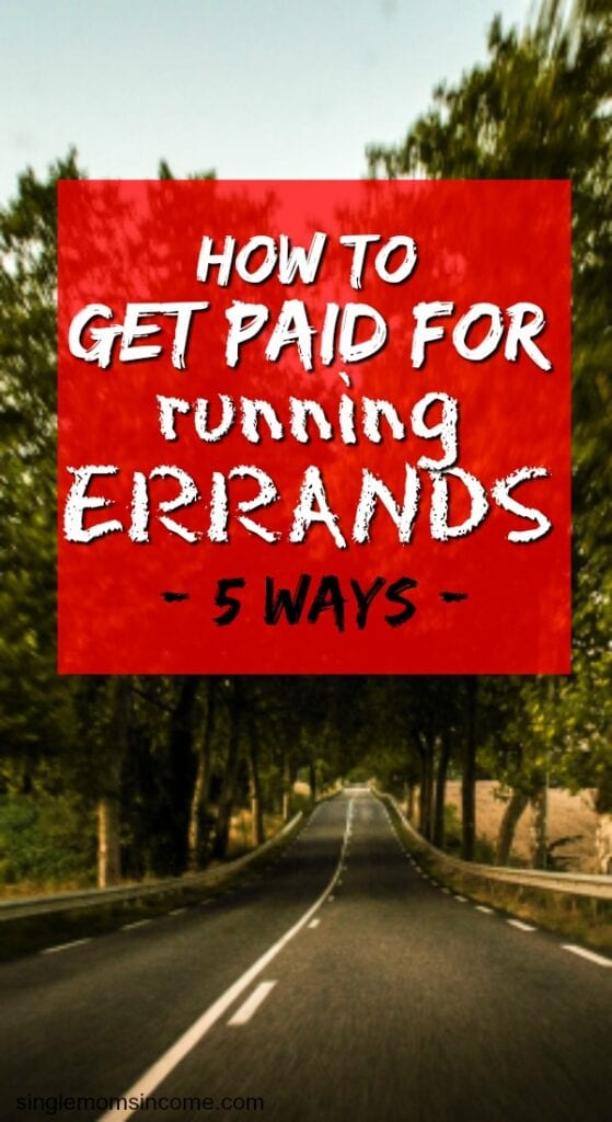 How to get paid for running errands. Side hustle ideas   work from home jobs