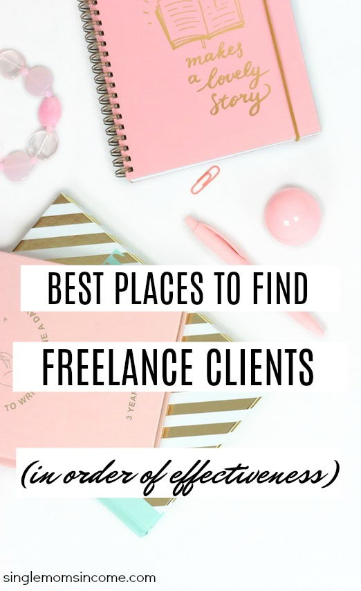 Ready to build up your client list? Here are five places to find freelance clients in order of effectiveness. Build up the clientele you want in two months or less using these strategies.