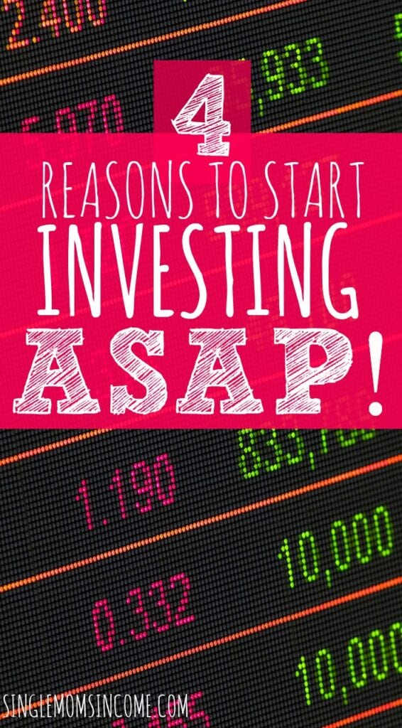 Have you been nervous to get started investing? If you want to maximize your money need to start ASAP. Here are four reasons to invest today.