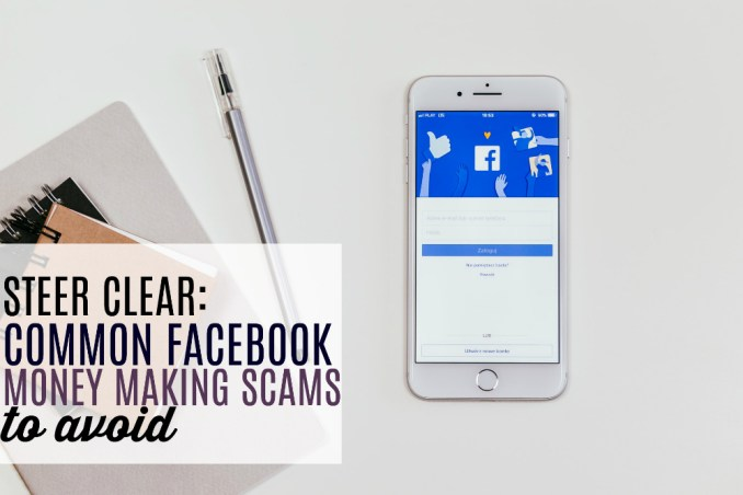 Don't get duped! Facebook money making scams are everywhere. Here's what to watch out for and how to spot something that's just too good to be true.