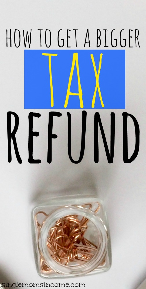 Have you ever wanted to get a bigger tax refund? I don't blame you if you do. Here are some steps you can take to maximize your refund this year. #taxrefund #taxes #money