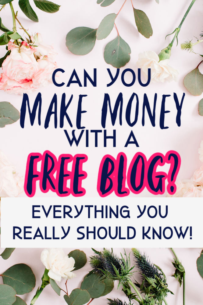 Can you make money with a free blog? Short answer: yes, but it's hard to do. Find out why it's hard and the reasons for investing in paid hosting.