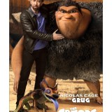 THE CROODS NICOLAS CAGE'S ROMP ACTION