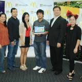 Microsoft Philippines and McDonald's award Paint and Celebrate winner