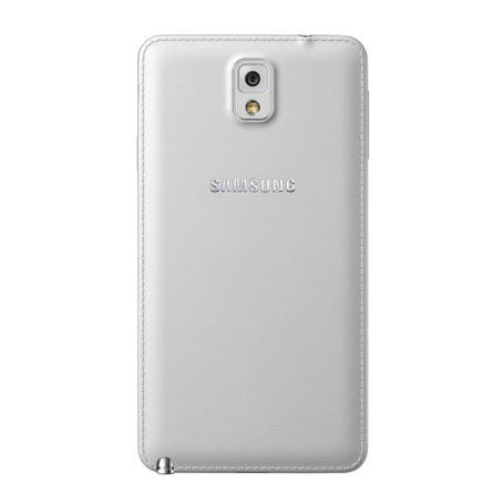Samsung Note 3 Classic White back