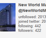 New World Makati tweeter unfollow strategy