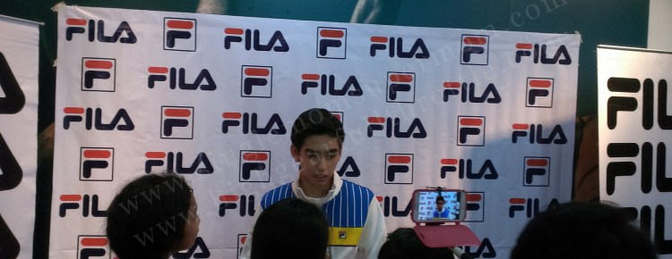 Michael Martinez at Fila Megamall