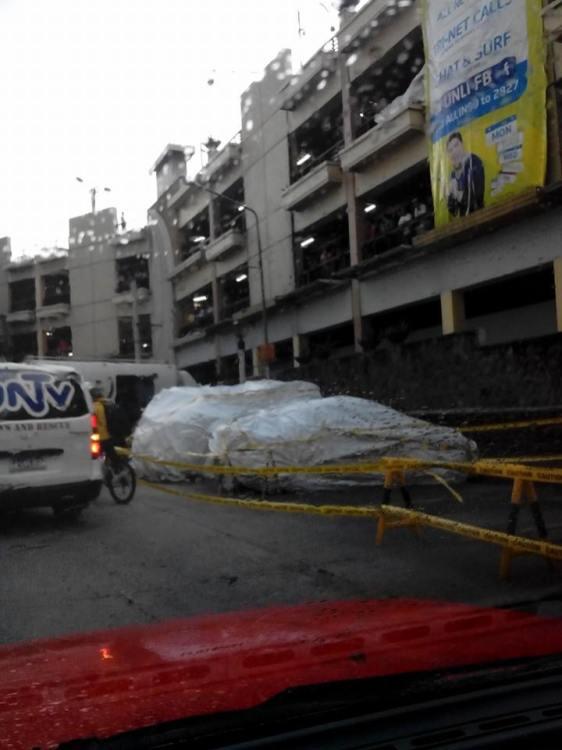 Car fell Greenhills carpark inside 4