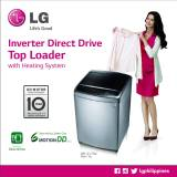 LG washers improved hygiene benefits powerful heaters