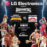 LG Sakers vs Barangay Ginebra – ASIAN BASKETBALL SHOWDOWN