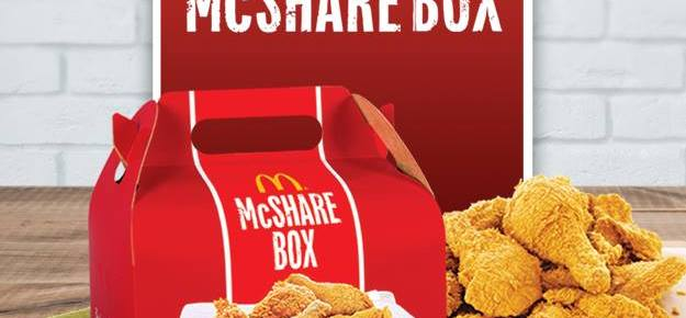 McDonalds Chicken McShare
