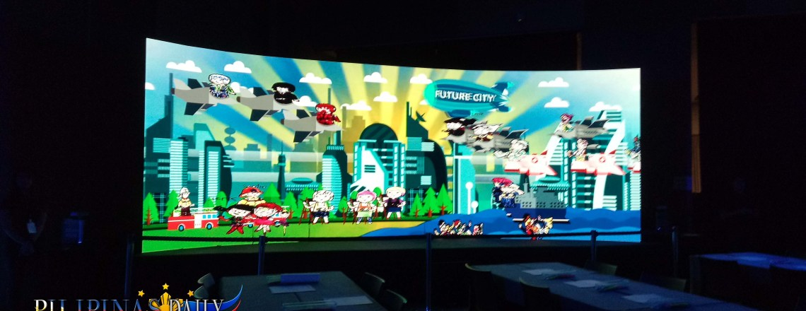 The Future City Digital Park with Nestle Nankid Optipro Four