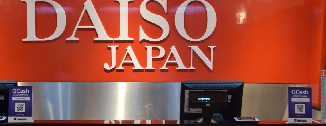 GCash Scan to Pay Accepted at Daiso Japan Outlets Nationwide