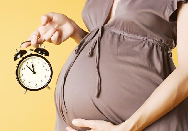Dấu hiệu sắp sinh trước 2 tuần