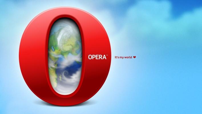 cách vào facebook bằng opera