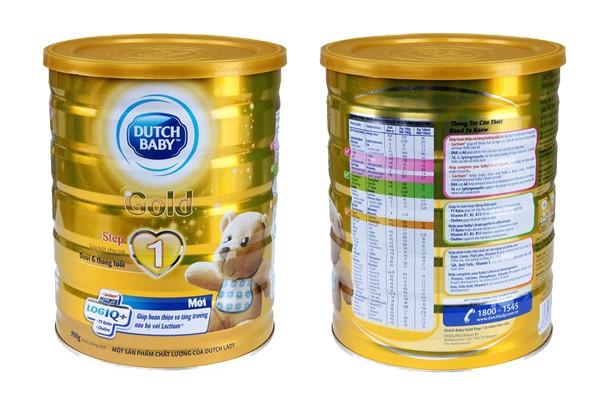 Những sản phẩm sữa bột tăng cân cho trẻ