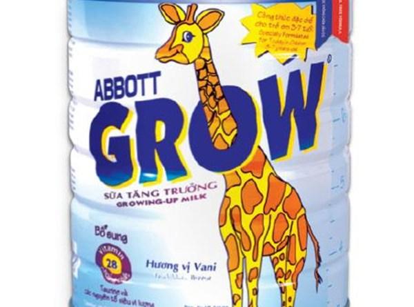 Các dòng sản phẩm sữa Abbott Việt Nam
