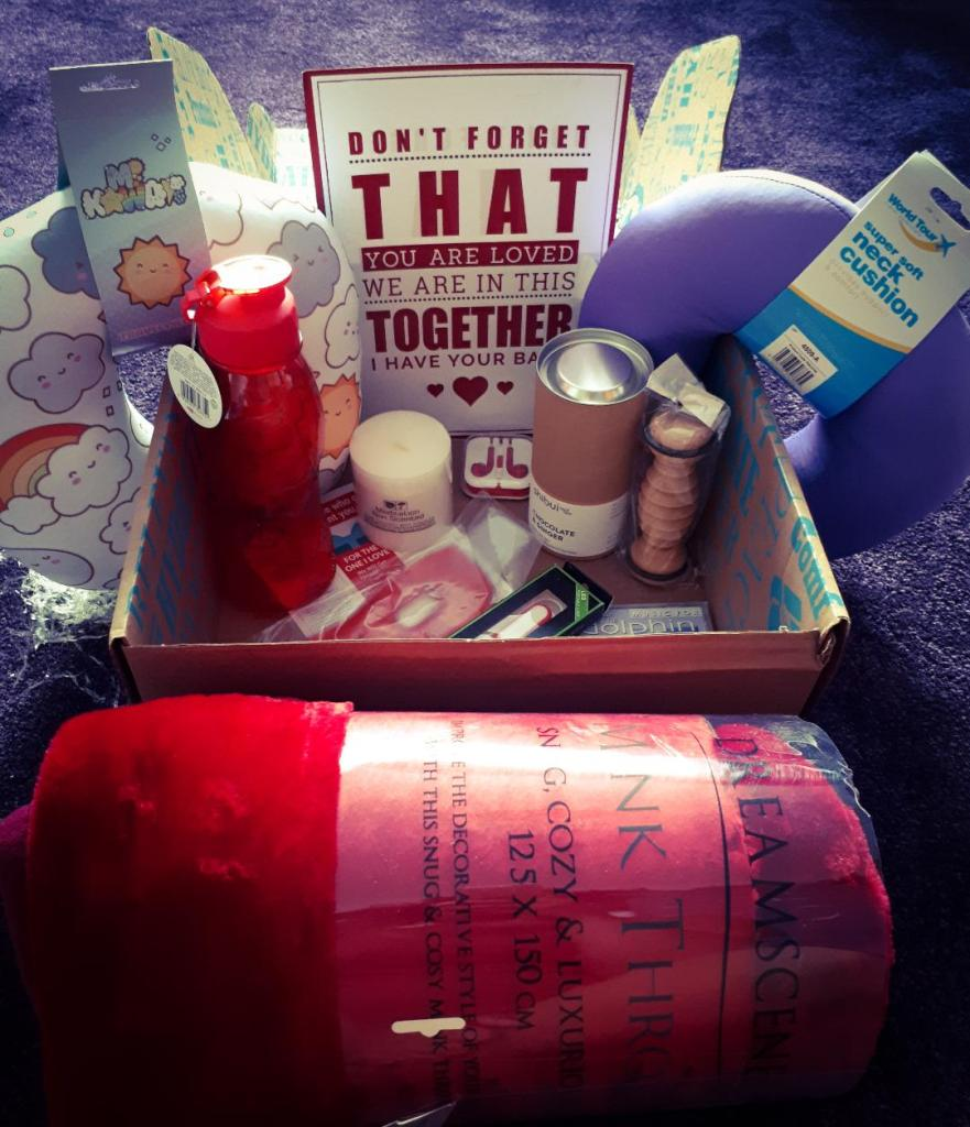 The Romantic Cancer Care Love Box