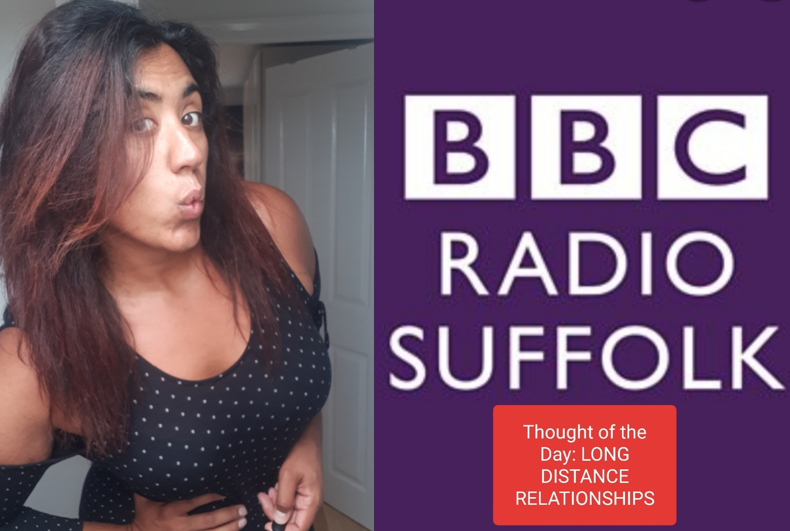 BBC Suffolk Long Distance Relationships