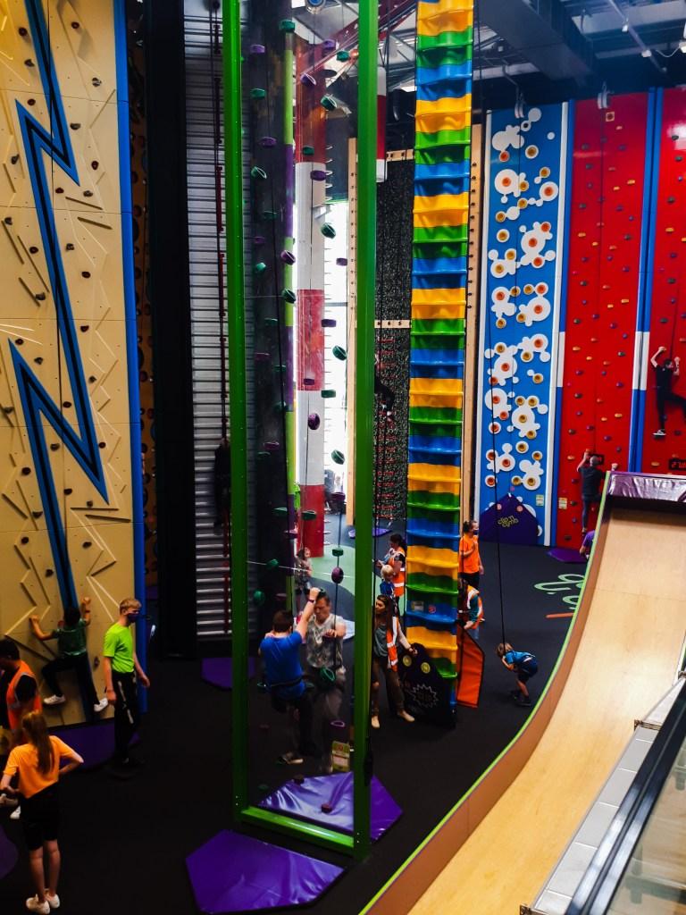 See-Through Wall at Clip n Climb