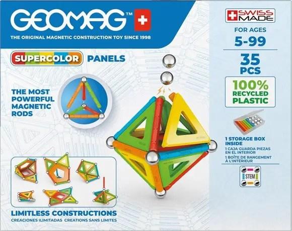 Geomag Supercolor Panels box