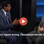 Bill Maher guest - Obamacare bends cost curve