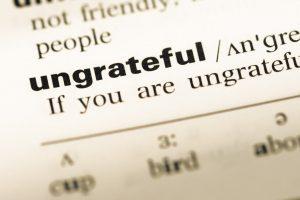 Unthankful Thanksgiving
