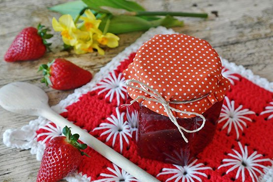 Strawberry jam recipes. made your own jam