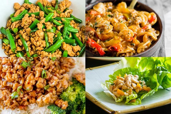 Recipes with ground chicken