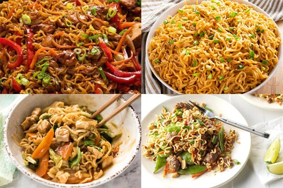 Recipes with ramen noodles. Super flavorful