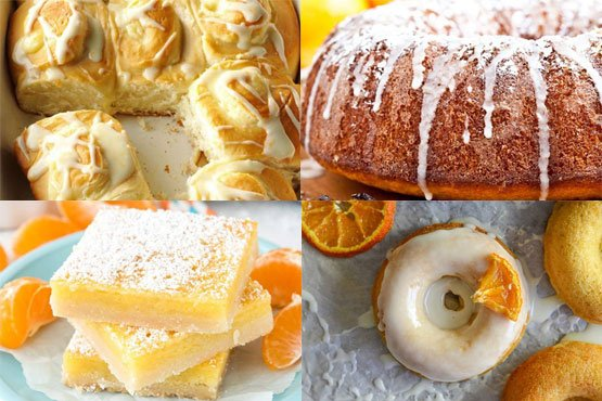 Recipes with orange. Perfect breakfast.