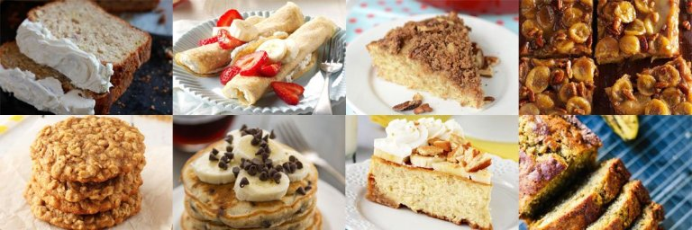 Best banana recipes. Healthy and delicious.