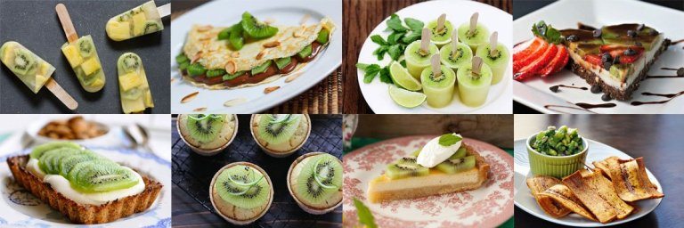 Best kiwi recipes. Healthy Breakfast.