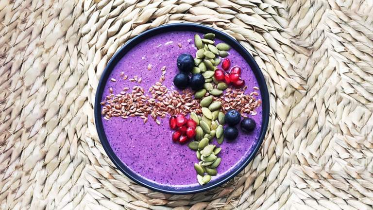 Easy Blue Coco Smoothie Bowl Recipe