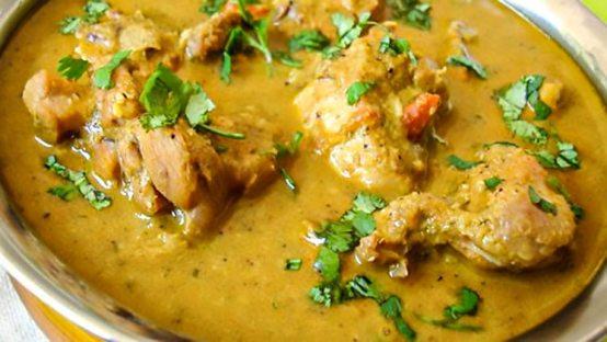 Preparing Rich Chicken Mughlai Stew