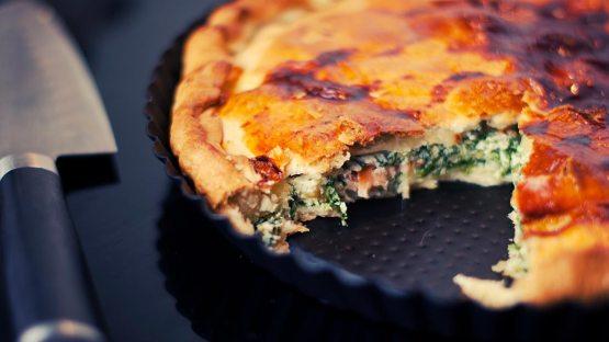 Easy Spinach and Feta Pie Recipe.